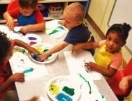 hollywood 2 year olds painting