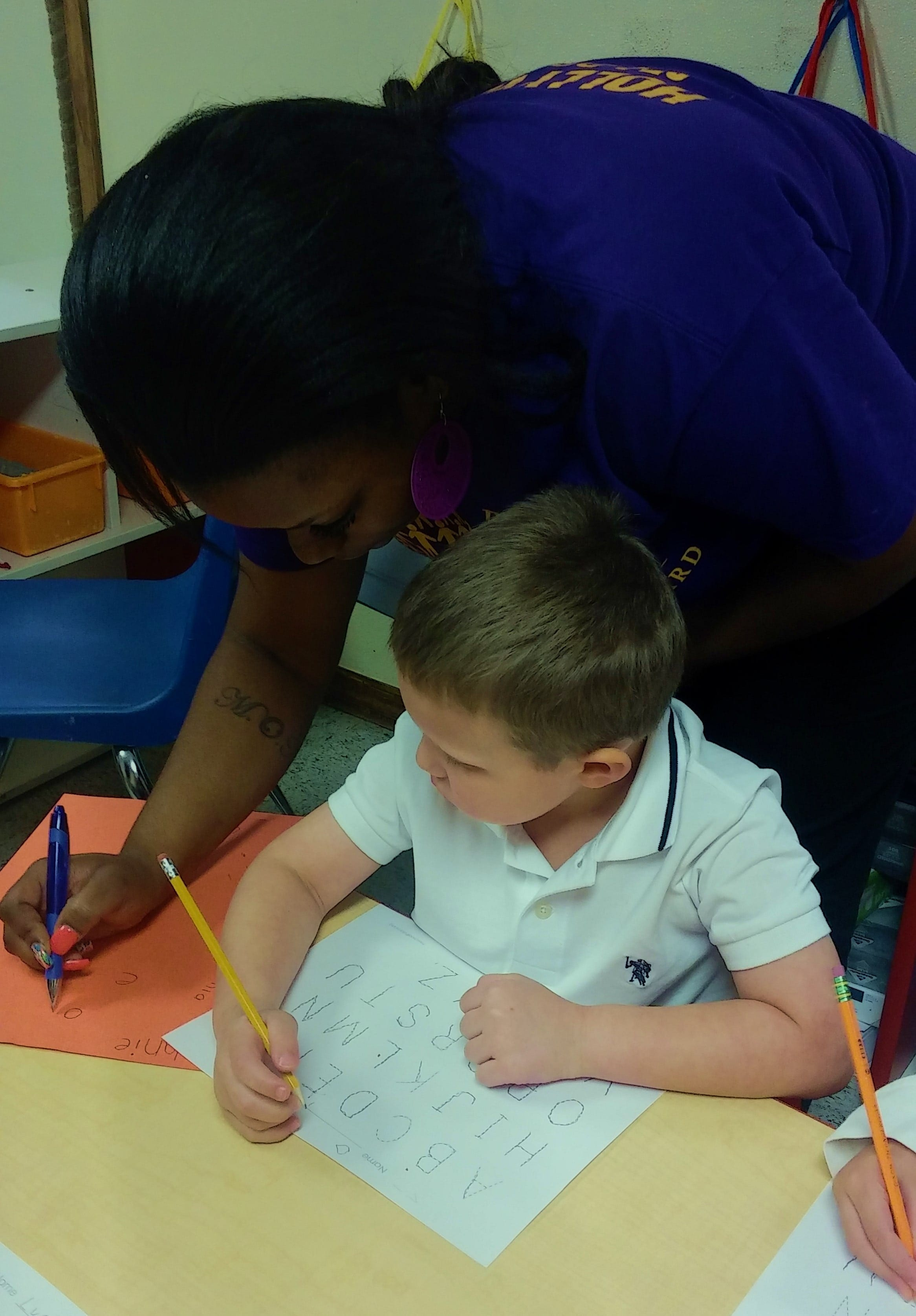 hollywood VPK with writing practice with Ms.D and Ms.Vicki