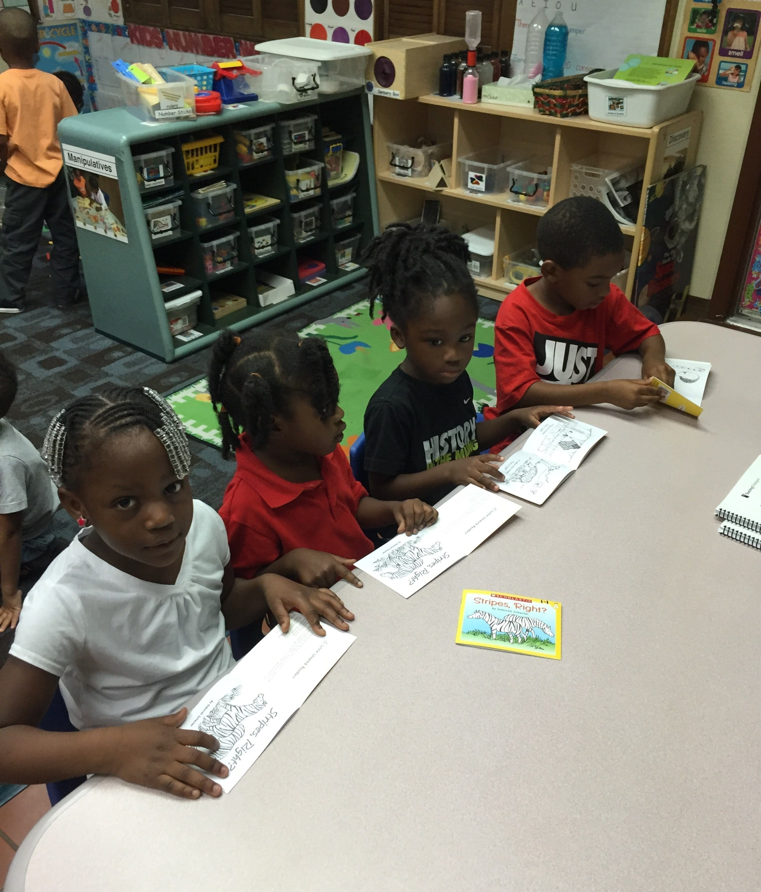 VPK A plantation beginner reading books