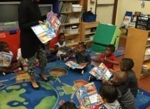 Plantation VPK B reading their first Clifford Magazine