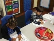plantation vpk B practicing letter M1