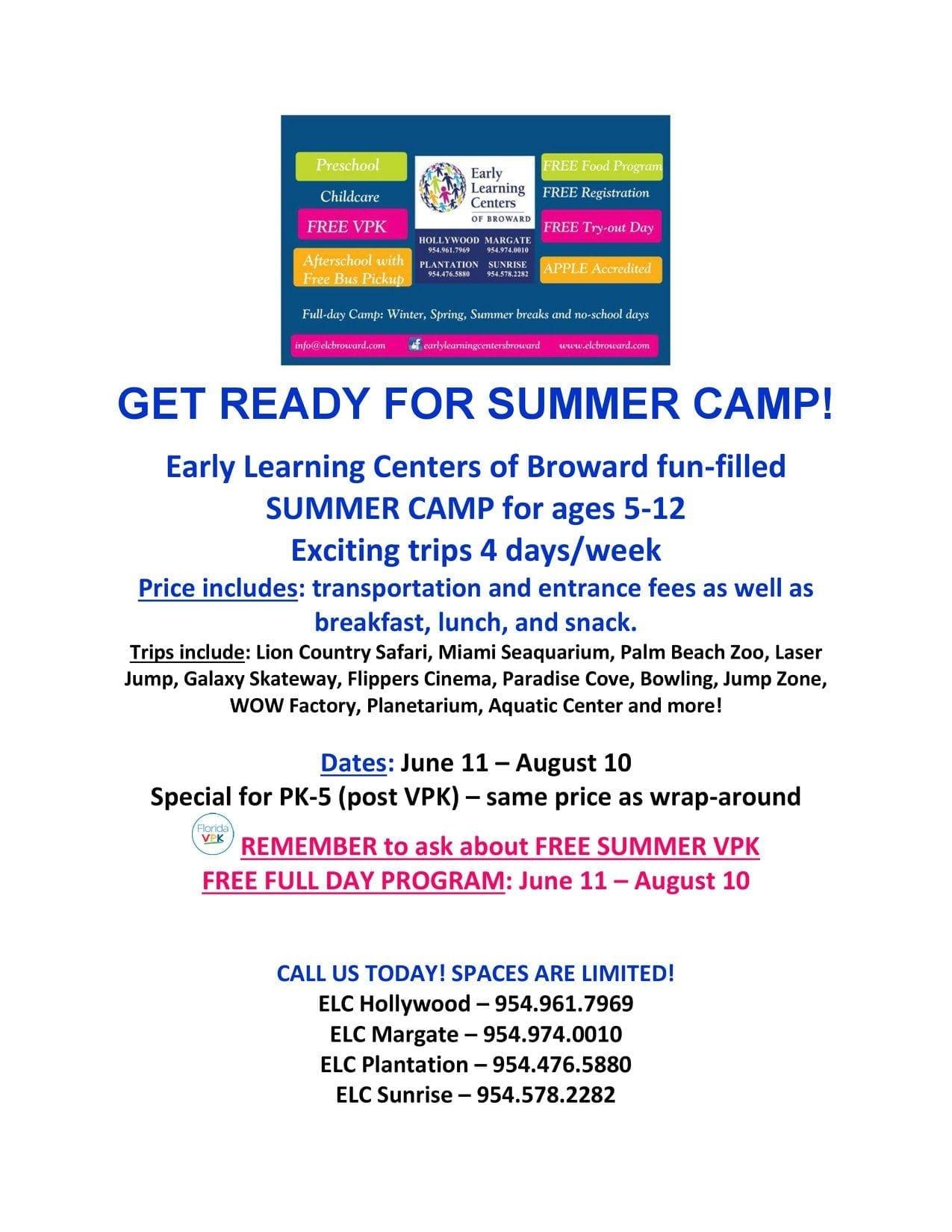 ELC SUMMER CAMP 2018
